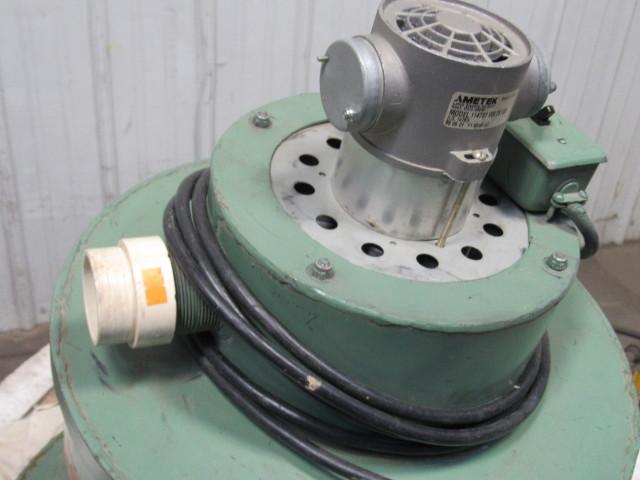 Ametek 114787 55 Gallon Drum Vacuum 120v Dust Collector
