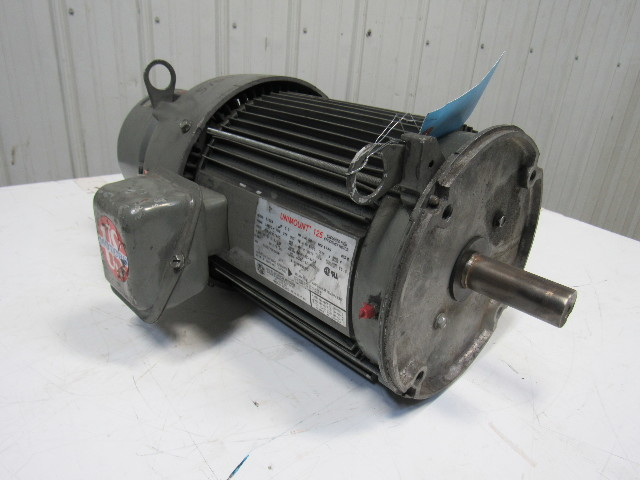 Us Motors B102a Unimount 125 5hp Rpm 208 230 480v