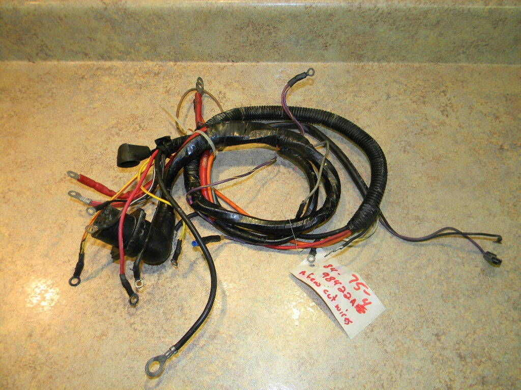 Mercury Outboard Wiring Harness A4