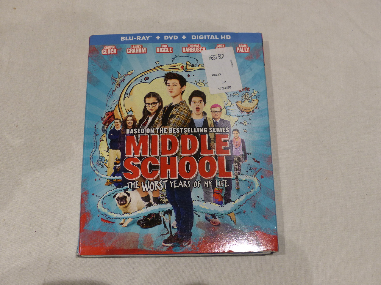 Middle School The Worst Years Of My Life Blu Ray Dvd