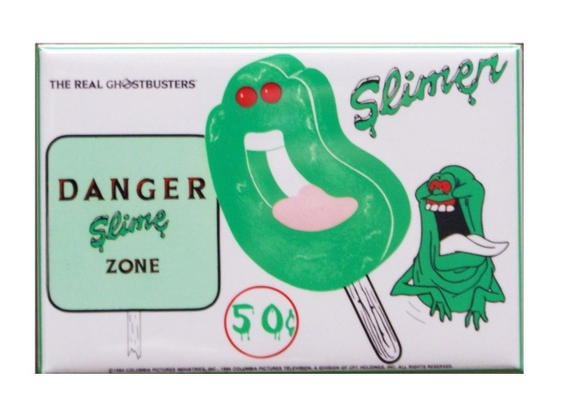 The Real Ghostbusters Slimer Popsicle Refrigerator Fridge