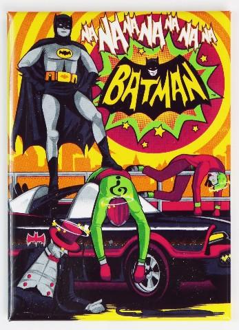 Batman FRIDGE MAGNET Adam West Joker DC Comics 1960s Riddler E14
