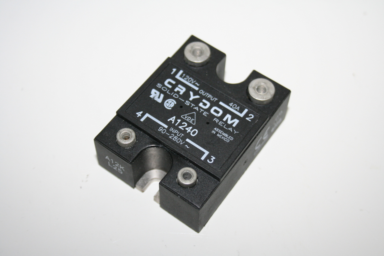 New Crydom A 90 280v 120v 40a Solid State Relay