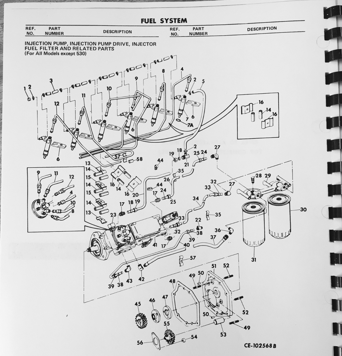 International Dt466 Engine Fuel Injector Diagram - Wiring Diagram