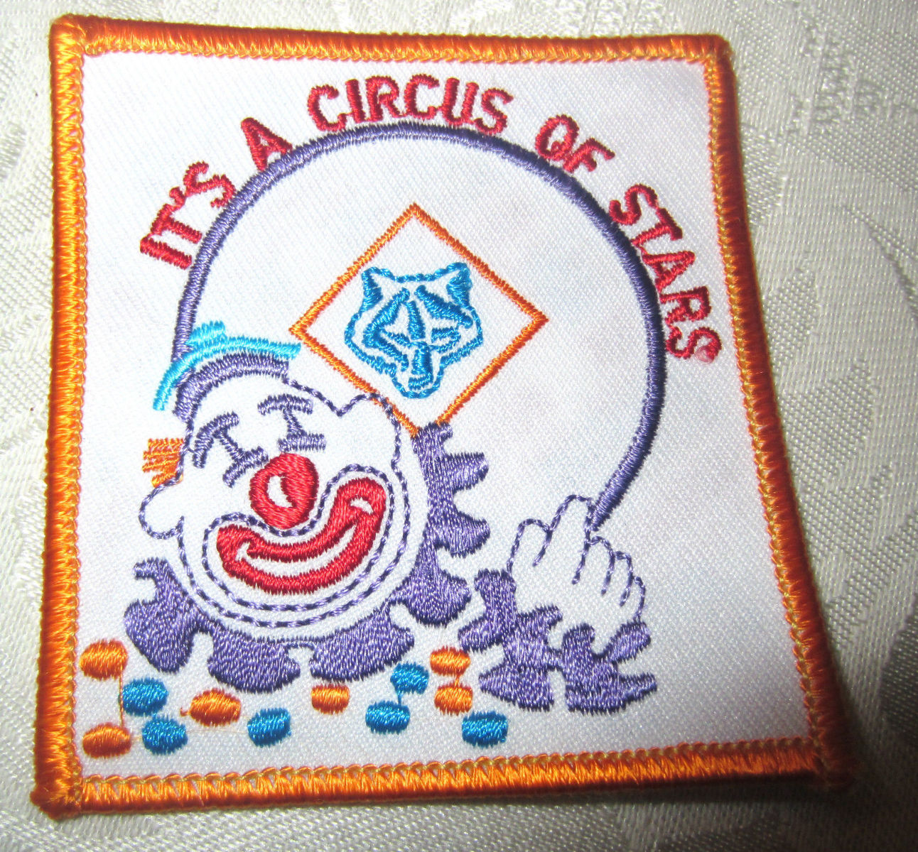 Bsa Boy Scout Uniform Patch Its A Circus Of Stars Clown