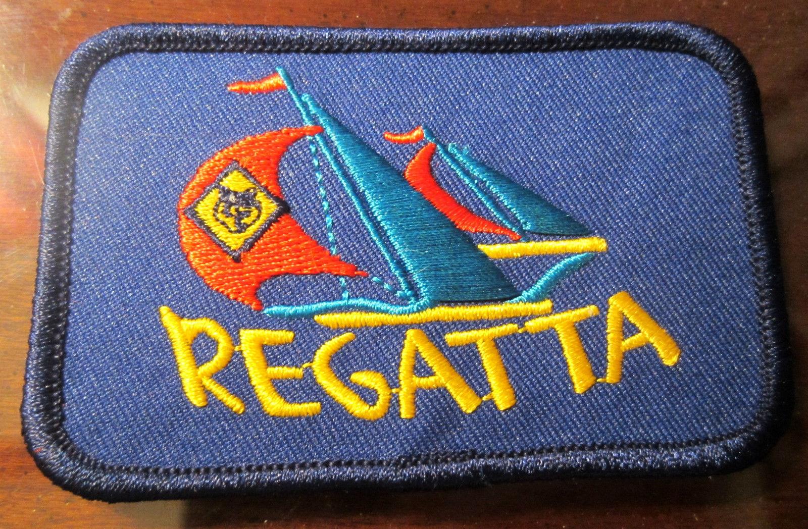 Uniform Patch Boy Scout Bsa Network Cub Scout Regatta Sail