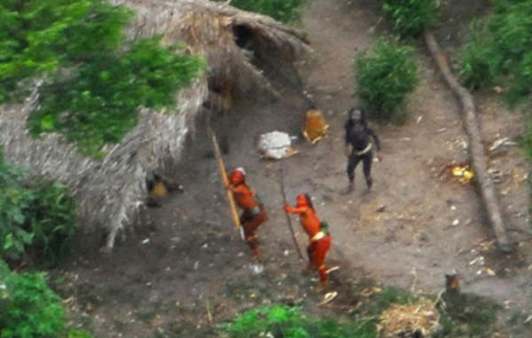 The proposed railway through the Amazon rainforest is likely to devastate the lands of uncontacted tribes throughindustrial exploitation,illegal logging and mining.