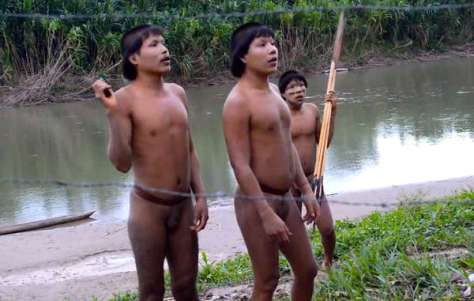 These Sapanawa Indians made contact in 2014. They reported their community had been attacked, and so many members of the village killed that they could not bury the dead.