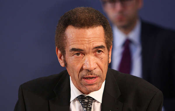 President Ian Khama was named Survival's Racist of the Year 2016 for comments he made about the Bushmen