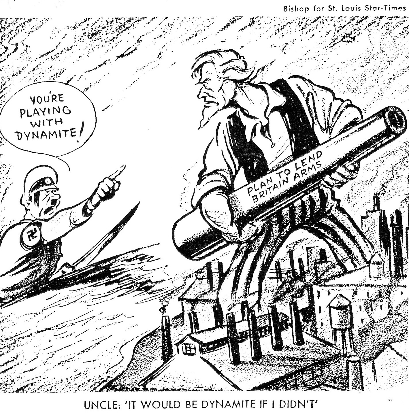 This Political Cartoon Is Representing The United