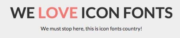 We Love Icon Fonts is similar to services like Fontello, Fontastic or IcoMoon. (Screenshot: We Love Icon Fonts)