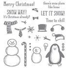 Snow Place Photopolymer Stamp Set