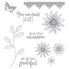 Grateful Bunch Photopolymer Stamp Set