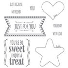 You're So Sweet Clear-Mount Stamp Set