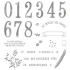 Au Fil Des Ans Photopolymer Stamp Set (French)