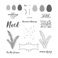 Christmas Pines Photopolymer Stamp Set