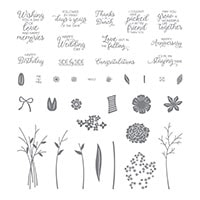 Beautiful Bouquet Photopolymer Stamp Set