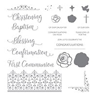 Inspired Events Photopolymer Stamp Set