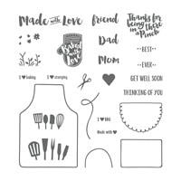 Apron Of Love Photopolymer Stamp Set