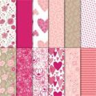"All My Love 12"" X 12"" (30.5 X 30.5 Cm) Designer Series Paper"
