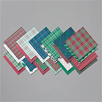 """Wrapped In Plaid 6"""" X 6"""" (15.2 X 15.2 Cm) Specialty Designer Series Paper"""
