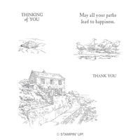 By The Bay Cling Stamp Set