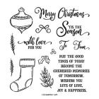 Tag Buffet Photopolymer Stamp Set