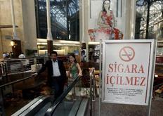 Η απαγόρευση του καπνίσματος σε μπαρ και εστιατόρια στην Τουρκία είναι σε ισχύ εδώ και 10 μέρες