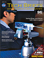 NASA Tech Briefs - NASA Tech Briefs, Motion Control and Automation Technology, and Sensor Technology - October 2016