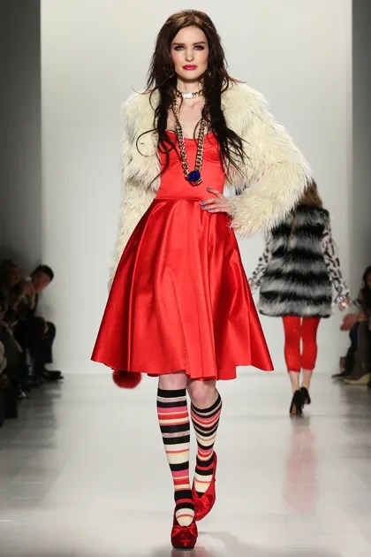 The Coolest Songs Models Walked Down the Runway to at NYFW   Teen Vogue Betsey Johnson