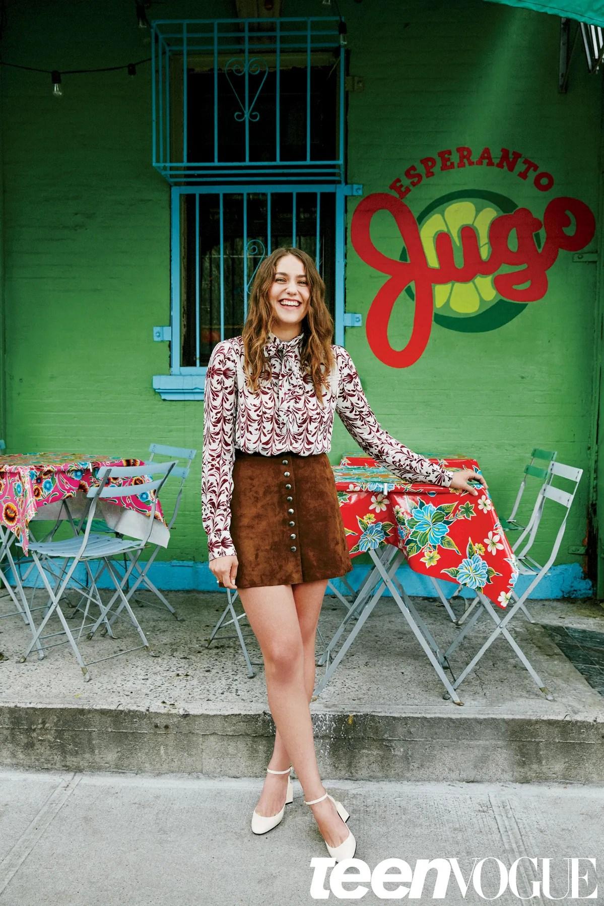 Lola Kirke Teen Vogue September 2015 Issue Photos Teen Vogue