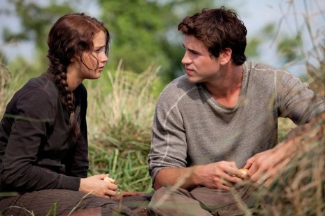 Image result for gale and katniss
