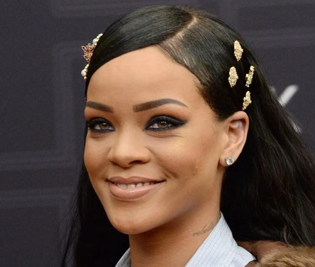 Newark New Jersey April 01 Singer Rihanna Attends Black Girls Rock 2016 On April 1 2016