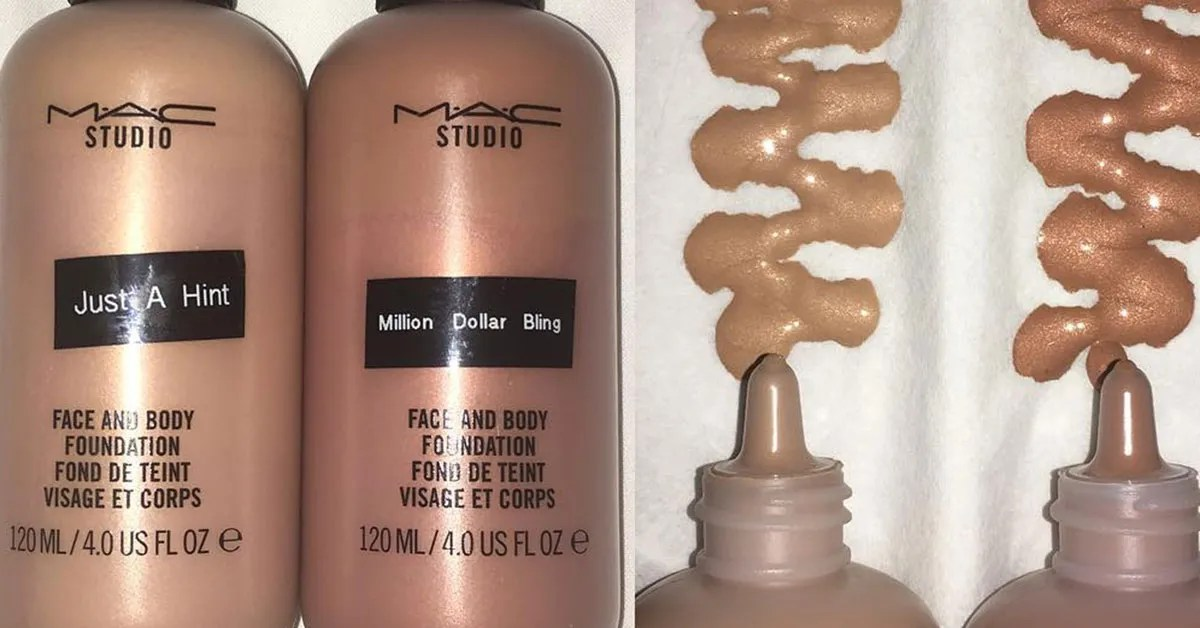 Mac Cosmetics Makes Metallic Foundations Teen Vogue