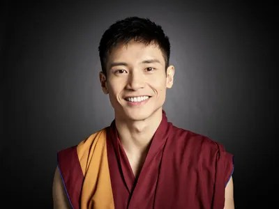 Image may contain Manny Jacinto Human Person Monk Clothing Apparel and Face