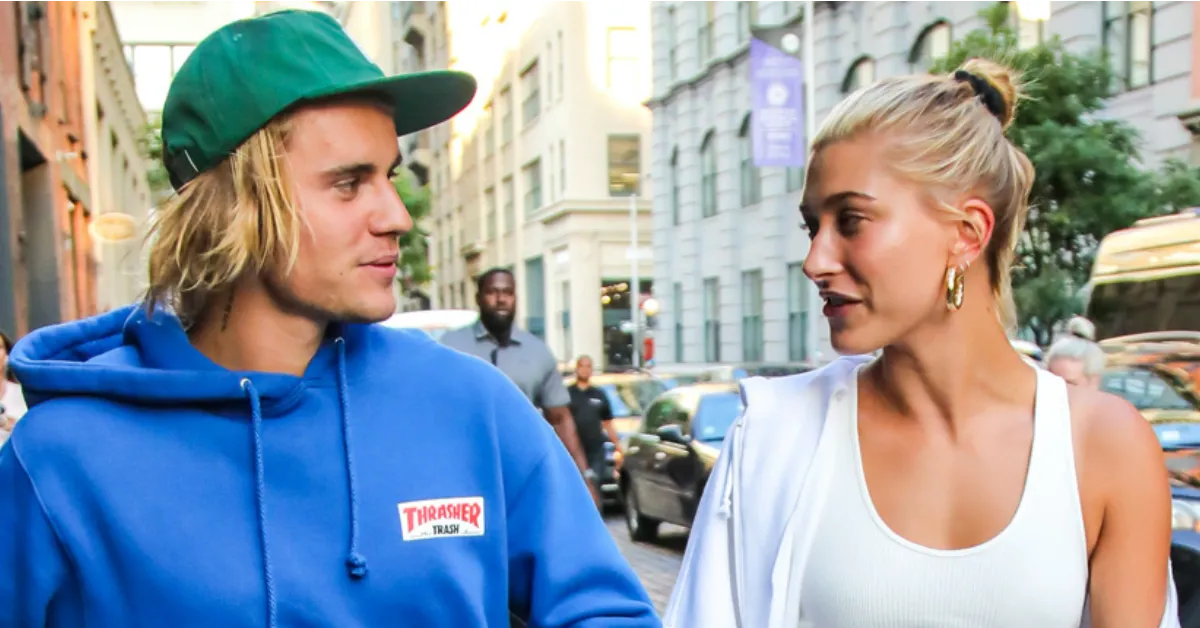 Hailey Baldwin on Date With Fiancé Justin Bieber in Bra Top | New