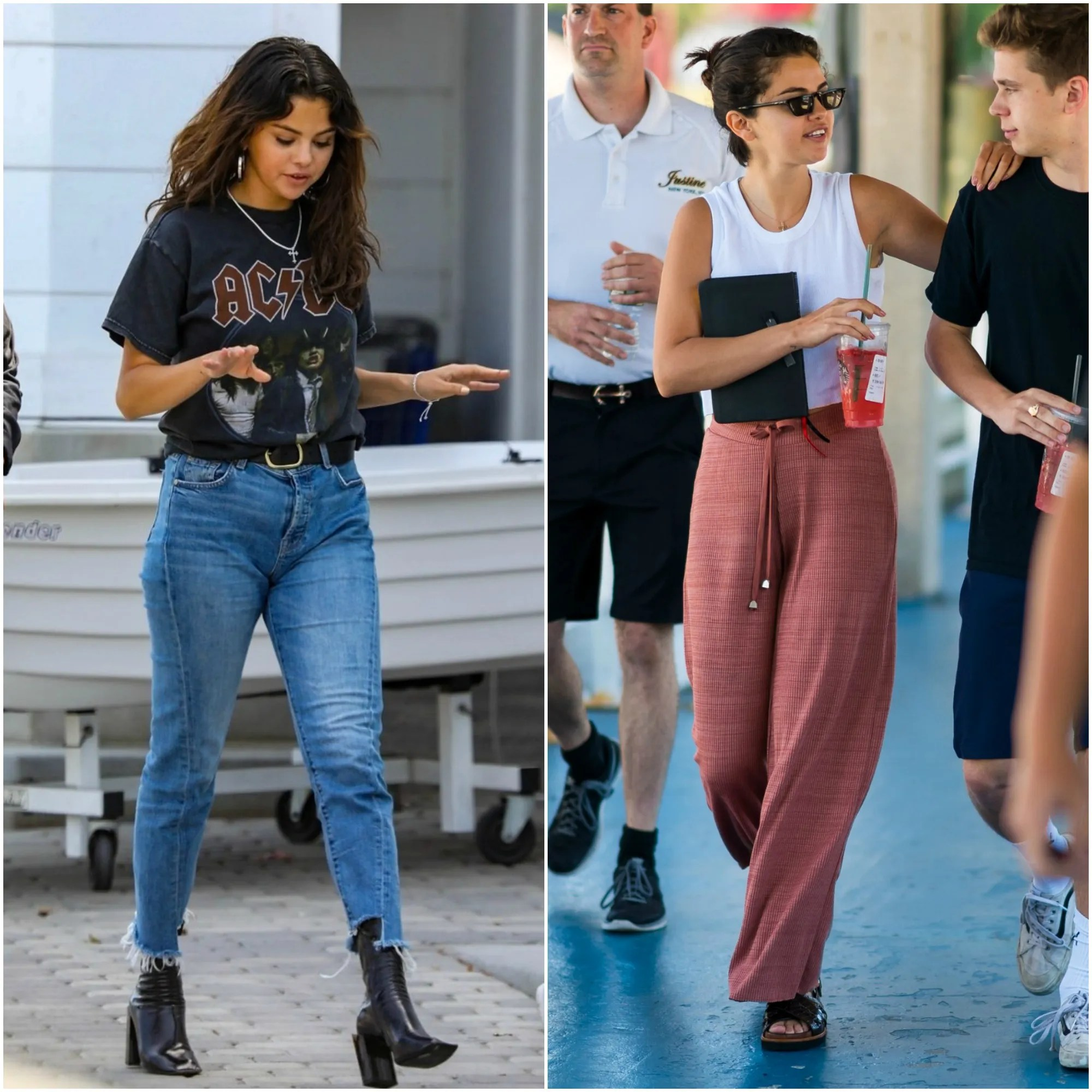 764a65402715c Selena Gomez is one of the most down-to-earth celebs we can think of. She  orders a medium number 7 at McDonalds, she loves rollercoasters, and even  though ...