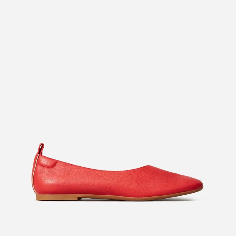 everlane red shoe