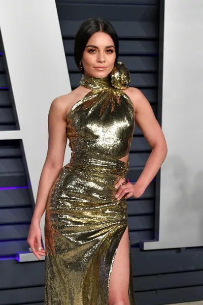 Image may contain Vanessa Hudgens Evening Dress Clothing Gown Robe Apparel Fashion Human and Person