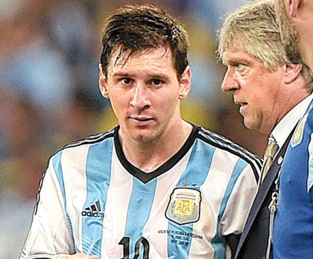 Maidan medio by Messi's side - Argentina via East Bengal - Telegraph India