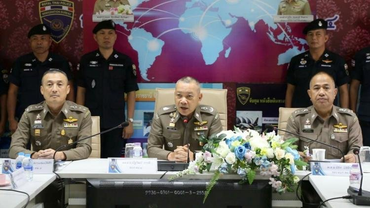 Immigration Crackdown Sees Thousands Arrested In Northeast Thailand