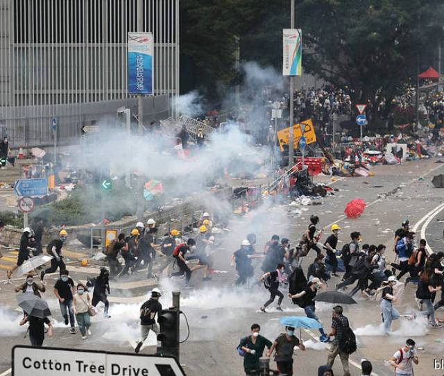 Police Chief Slams Riot Defends Use Of Tear Gas Rubber Bullets Hong Kong Protest Update