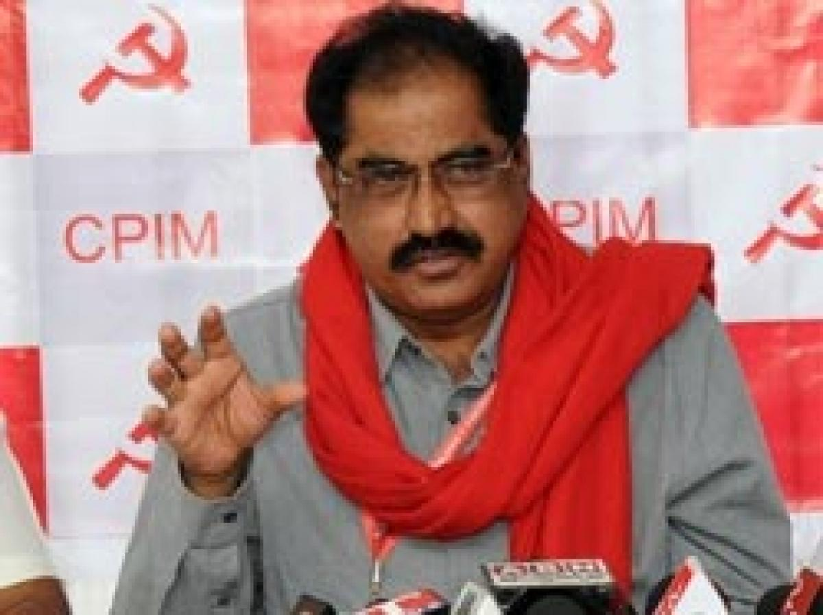 Communists take victory, defeat in stride: Tammineni