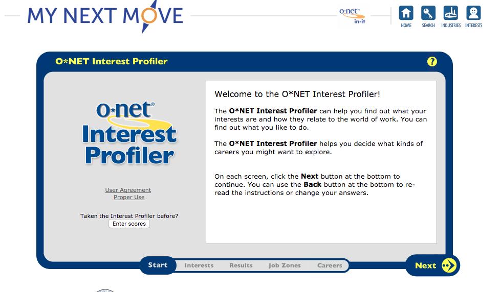 Free career test