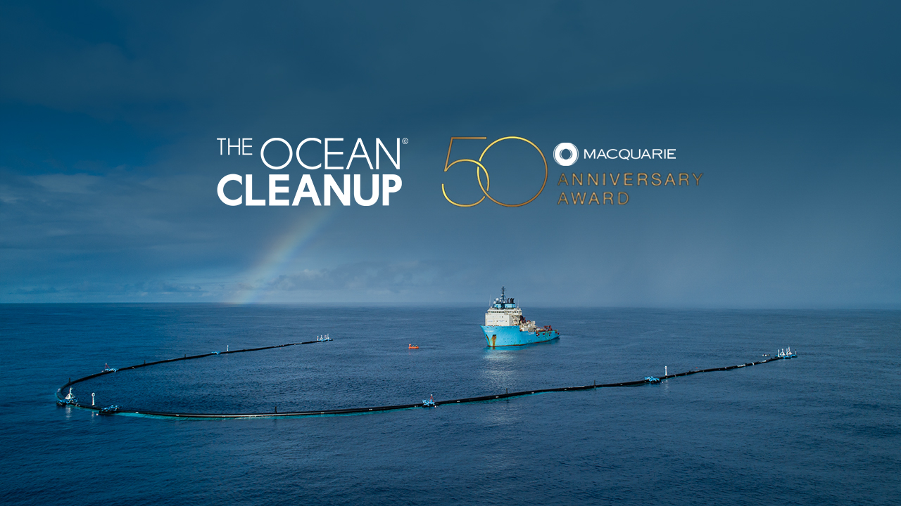 The pound+ program is a new way for members of the clean ocean movement to directly fund our overall cleanup operations and more. The Ocean Cleanup Is Awarded Macquarie 50th Anniversary Award The Ocean Cleanup