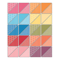Designer Series Paper Patterns Stack - Brights Collection