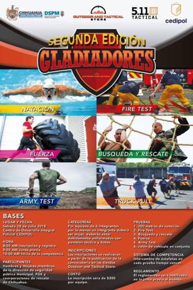 Convocatoria gladiadores