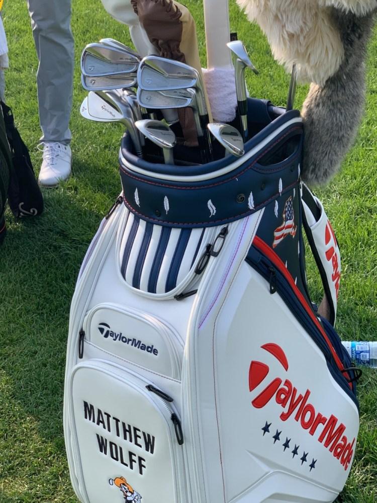 Matt Wolff's setup ahead of the 2020 U.S. Open.