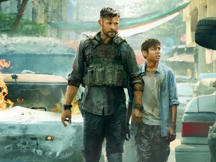 Chris Hemsworth is the star of the film exclusive to the streaming platform of Netflix; Extraction(Netflix)
