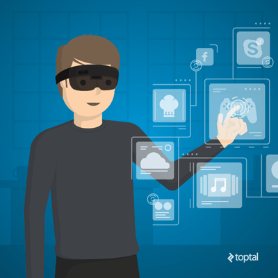 microsoft hololens and VR